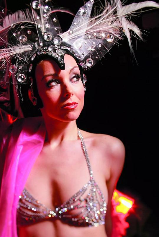 Jako jediná Češka tančila na pódiu slavného kabaretu Moulin Rouge.