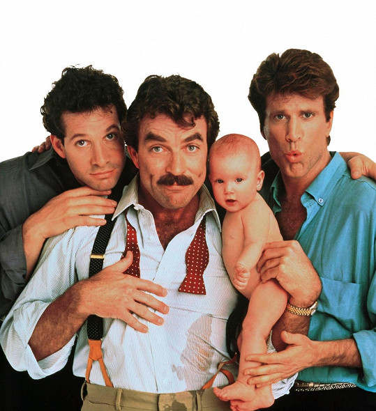 Toma Sellecka proslavila komedie Tři muži a nemluvně.