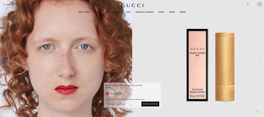 Barbora Fialová v beauty kampani