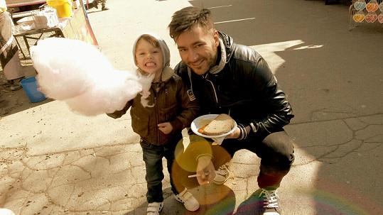Mají spolu syna Marečka.