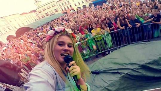 Záběry z koncertu