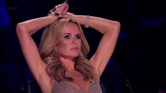 Amanda působí už řadu let v porotě soutěže Britain's Got Talent.