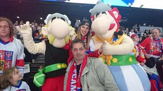 S maskoty mistrovství Asterixem a Obelixem