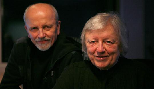 Václav Neckář s bratrem Janem