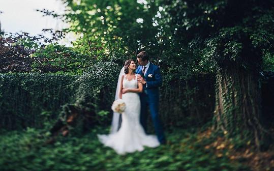 Moderátorka s novomanželem Michalem Bílkem