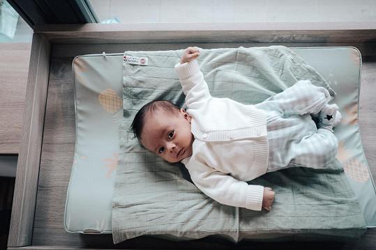 Malý Tomík v sedmi týdnech