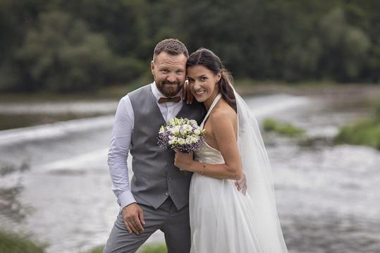 Letos v srpnu se Veronika vdala, nyní už se těší na miminko.