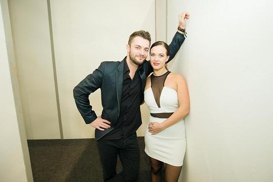 ...a se svým tanečníkem Václavem Masarykem