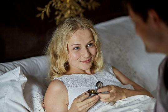 Pro slovenskou herečku to bude první velká příležitost před kamerou.