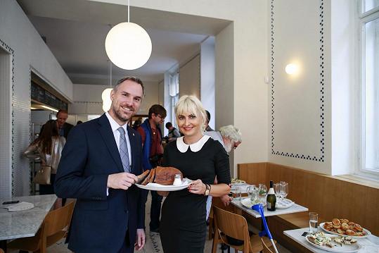 Na akci hostila i primátora Prahy Zdeňka Hřiba.