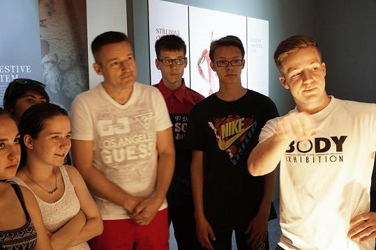 Vladimír Hron s dětmi