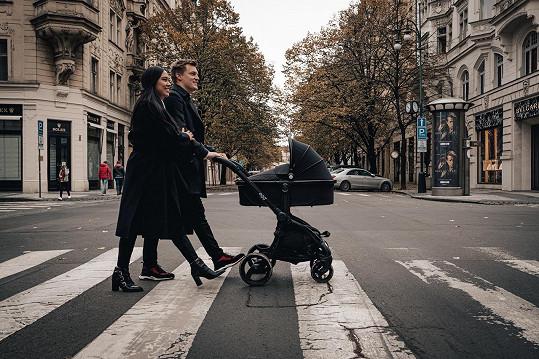 Na procházce v centru Prahy.