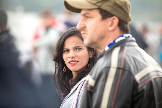 Klaudia Dudová a Martin Hofmann v seriálu Most!