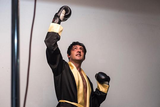 Takhle vypadal jako legendární boxer.