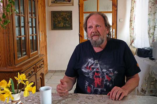 Lešek Semelka po prodělané mozkové příhodě změnil životní styl.