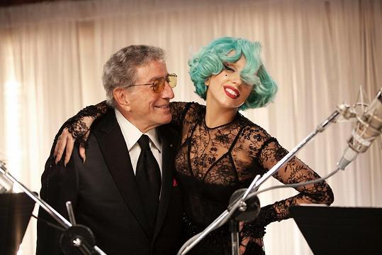 Lady Gaga s Tonym Bennettem nazpívala i duet.