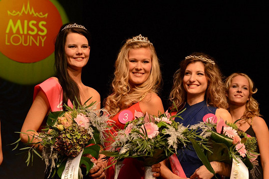 Vítězky soutěže krásy Miss Louny