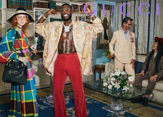 Barbora Fialová v kampani pro Gucci