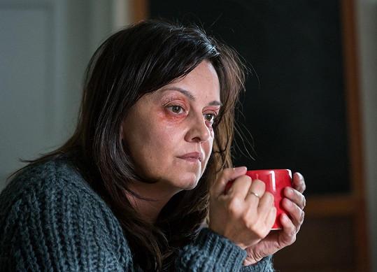 Tereza Brodská v seriálu Jak si nepodělat život kvůli kterému musela přibrat 10 kilo.