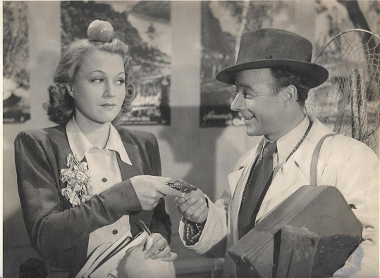Adina Mandlová a Heinz Rühmann v hlavních rolích filmu
