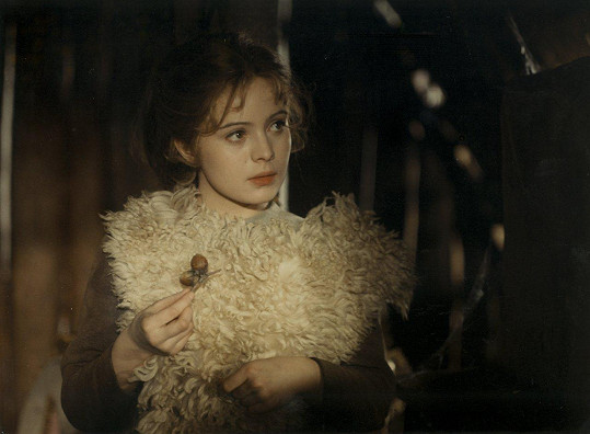 Libuška Šafránková v pohádce Tři oříšky pro Popelku (1973)