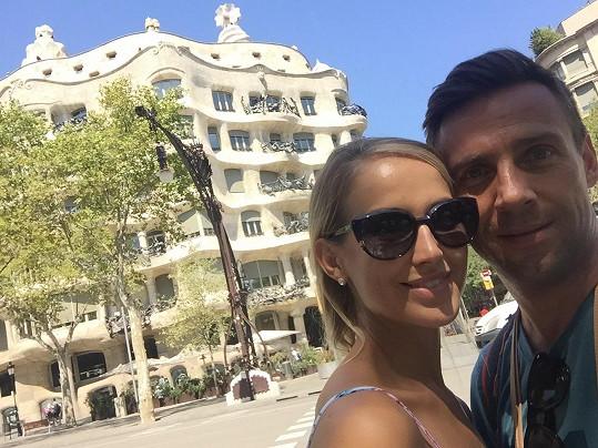 Casa Milà neboli La Pedrera a naše zamilovaná dvojička