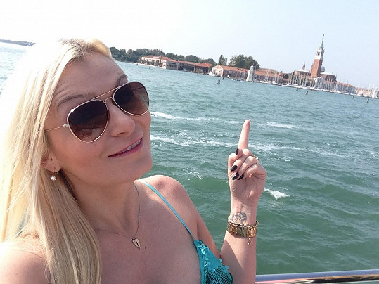 Eva si vyrazila do Benátek.