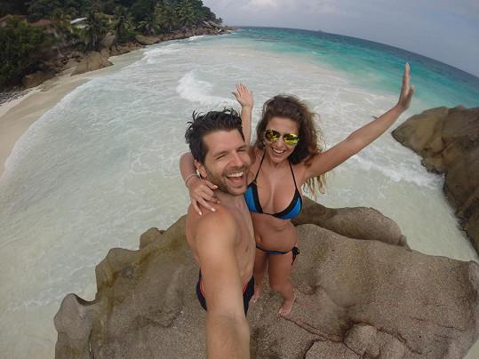 Petr Cerha alias Nasty si užíval dovolenou na Seychelách.
