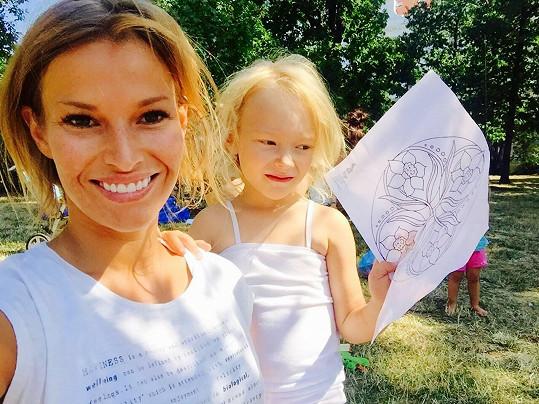 Petra Svoboda s dcerou Rachel