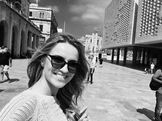 Před pár dny se Gábina vrátila z Malty.