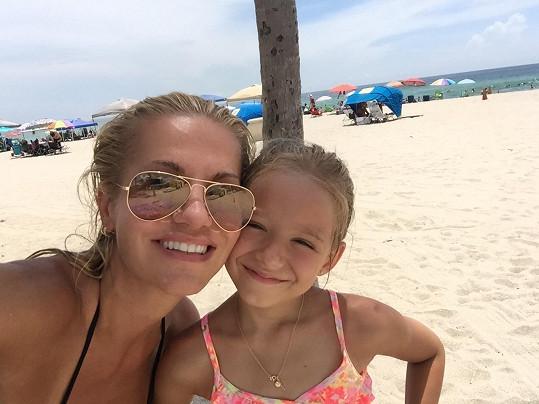 Dara s dcerou Laurou