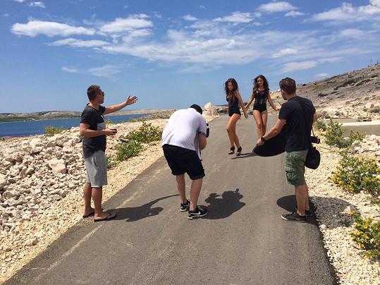 Natáčení v Chorvatsku