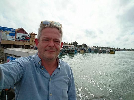 Aleš Háma cestuje s rodinou po Srí Lance.