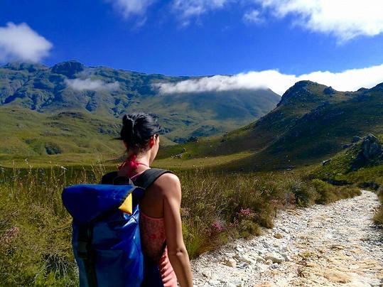 Naposledy se vypravila do Jihoafrické republiky, kde si zamilovala přírodu.
