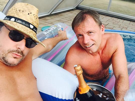 Marian Vojtko si léto užívá.