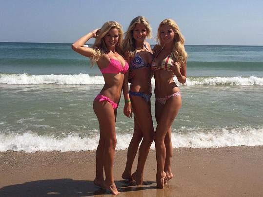 Blondýnky si užívají na soustředění v Bulharsku.