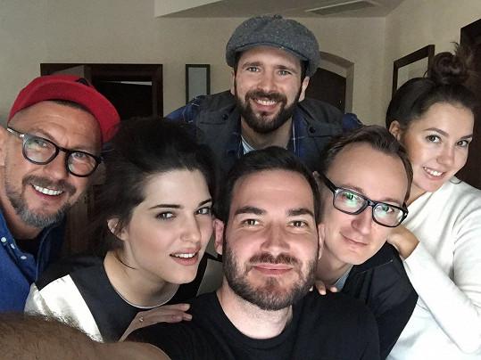 Společné foto týmu s Michalinou