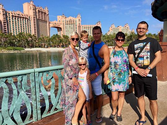 Společné rodinné foto