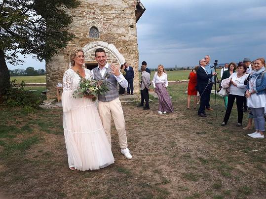 Svatba probíhala u nejstaršího kostelíku na Slovensku.