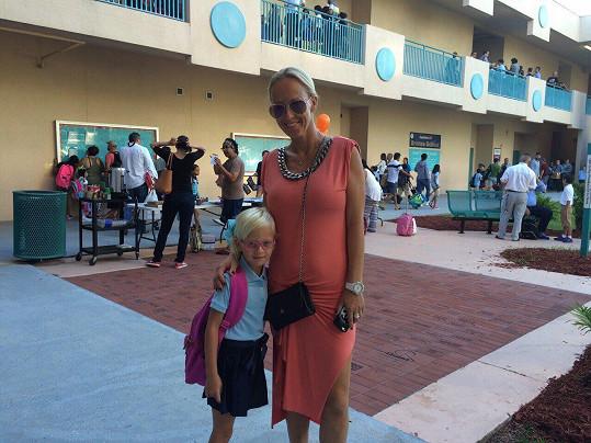 Zuza s dcerou Salmou