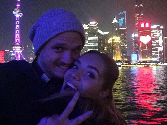 Taťána si užívala v Šanghaji s Ondřejem i volné chvilky.