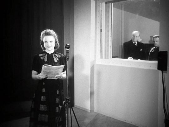 Zdenka Sulanová se proslavila mimo jiné ve filmu Madla zpívá Evropě.
