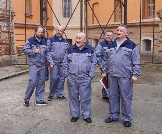 V roli vězně