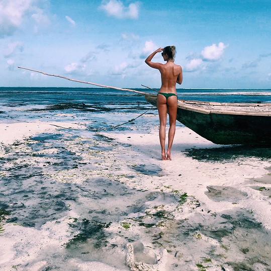 Na jedné z nejkrásnějších pláží na ostrově Nungwi Beach