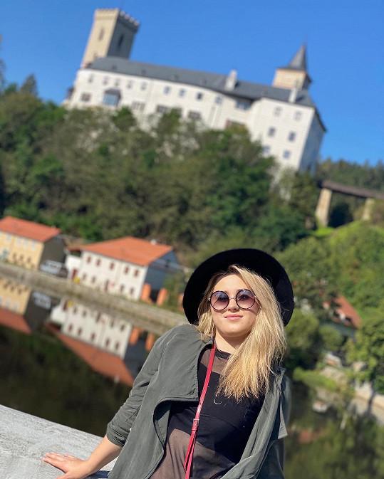 Nevynechala ani výlet na hrad Rožmberk.