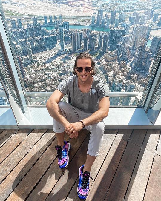 Milan Peroutka navštívil Dubaj poprvé v životě.