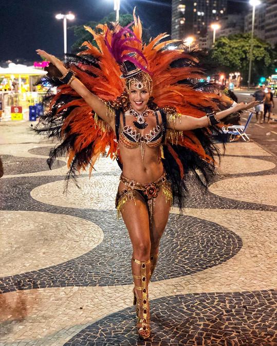 Pro Victorii bylo vystoupení v Riu životním zážitkem.