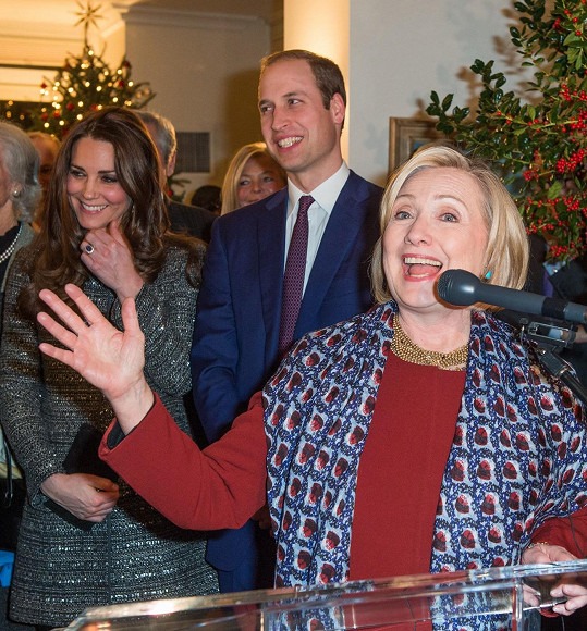 Rozjařená Hillary Clinton