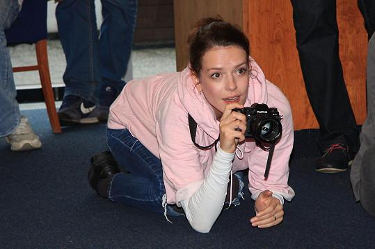 Andrea se na akci zhostila role fotografky.