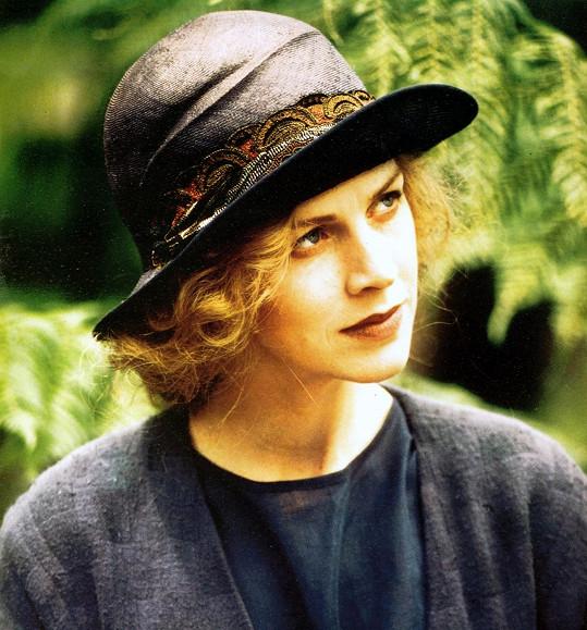 Herečka na snímku z roku 1986